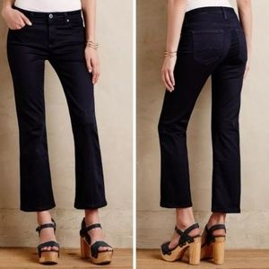 AG Stacy Mid-Rise Straight Crop Jeans- 27R